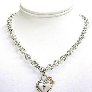 Tiffany cory rare tiffany co 1994 sterling 18k gold heart very rare tiffany co 1994 sterling 18k gold heart lock key aloadofball Choice Image